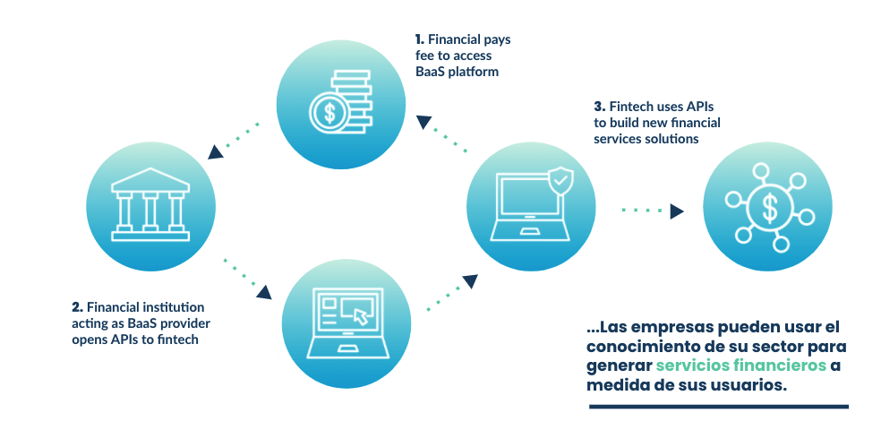 banking as a service estructura